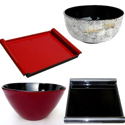 Saladiers, plateaux, salad bowl, trays