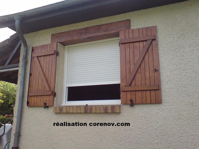 cache extérieur fenêtre pvc