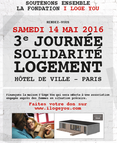 I love you, solidarité, logement