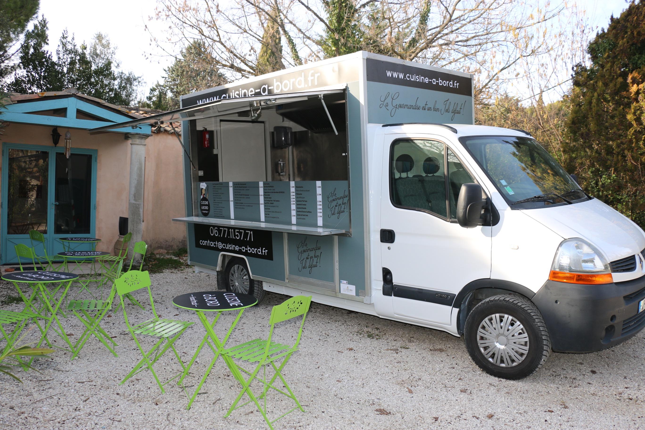 cuisine a bord food truck