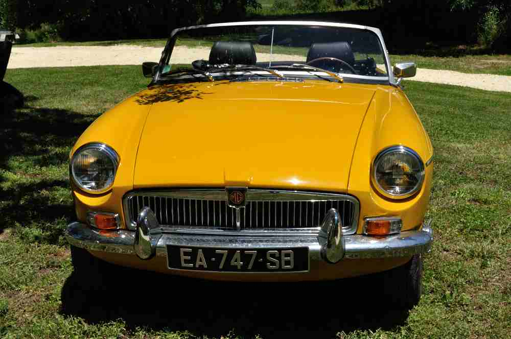 MGB Yellow Inca