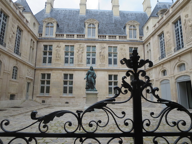 The Carnavalet History of Paris Museum French Renaissance Mansion Jean Goujon sculptor Francois Mansart architect Marquise of Sevigne