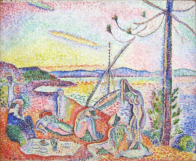 Matisse Luxe Calme et Volupte pointillist fauve color painting