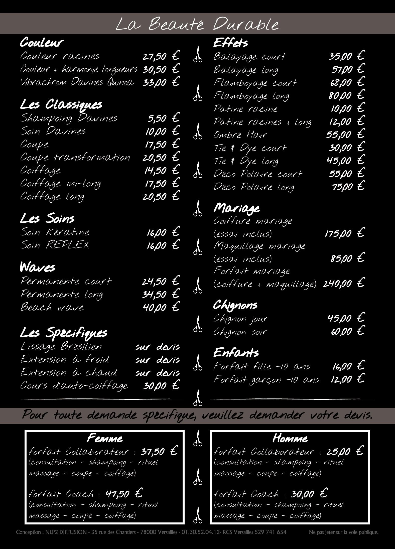 Coiffeur Créateur La Rochelle 17000