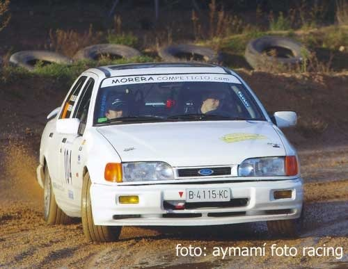 Rallye Hivern 2003. Co-pilot: F. Guillen