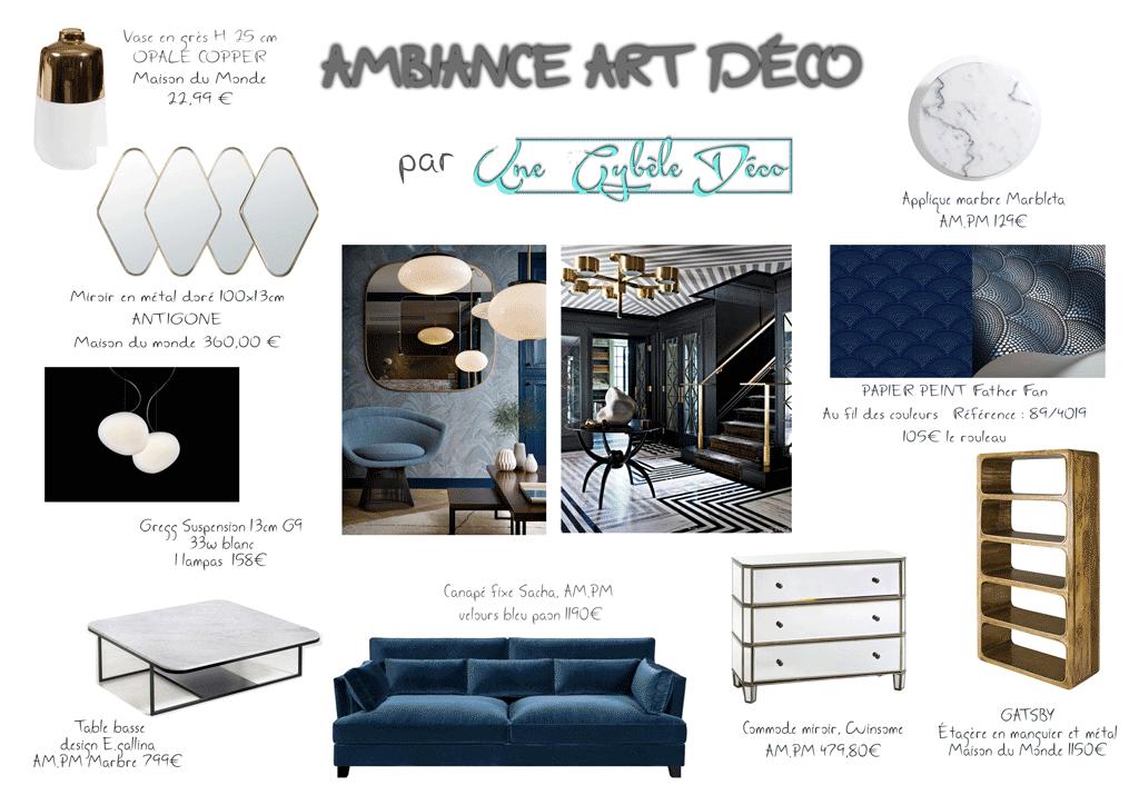 une cyb le deco. Black Bedroom Furniture Sets. Home Design Ideas