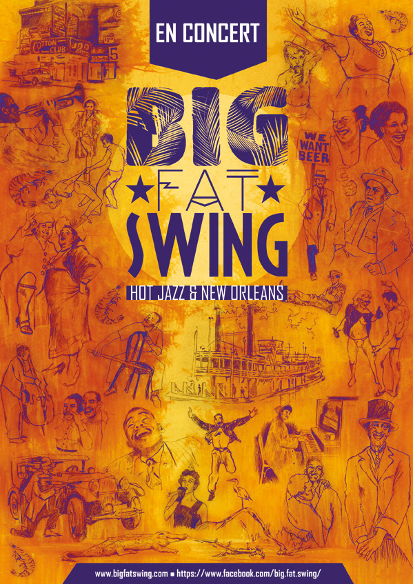 affiche Big Fat Swing