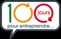 100 jour pour entreprendre logo