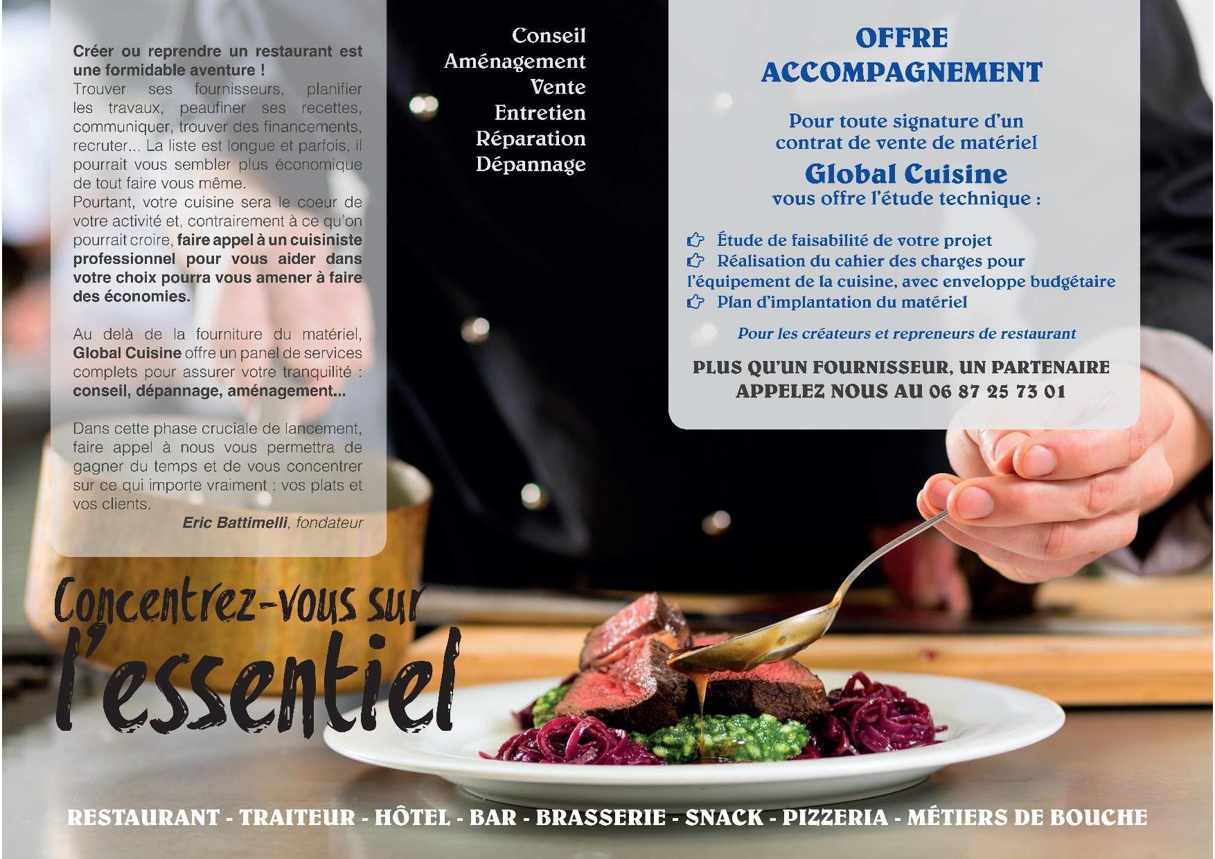 global cuisine - cuisine professionnelle - Renovation Cuisine Professionnelle