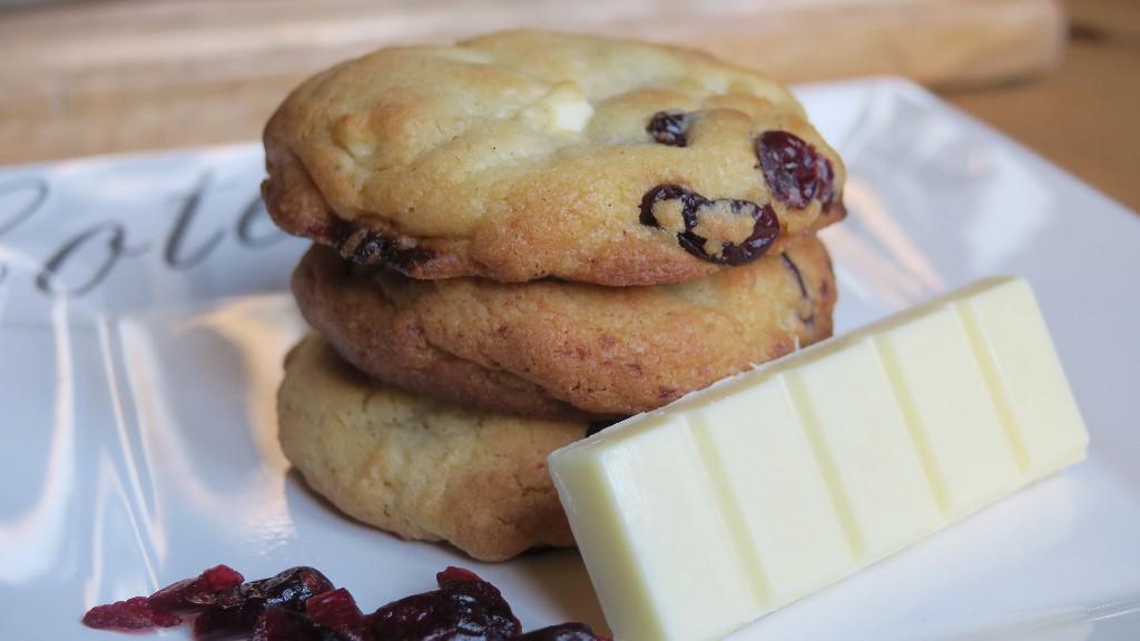 cookies cranberries chocolat blanc. Black Bedroom Furniture Sets. Home Design Ideas