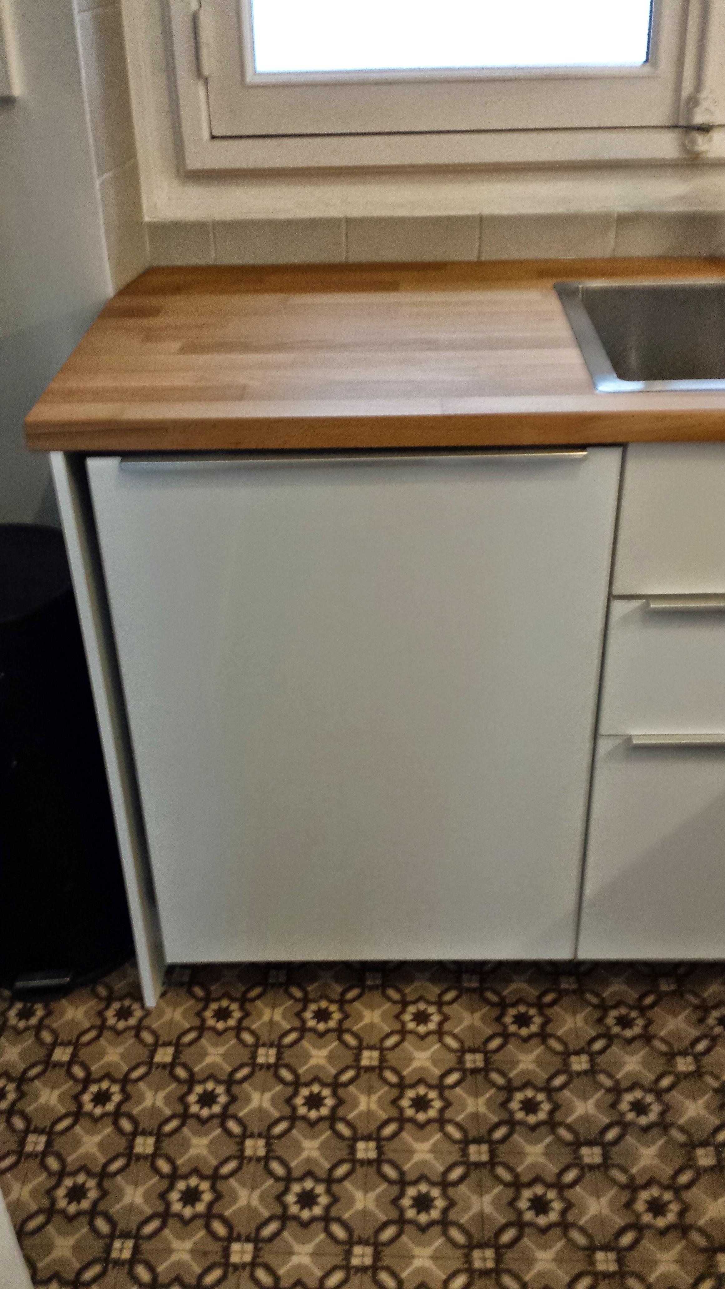 Installateur de cuisine ikea et autres marques for Ikea meuble lave linge