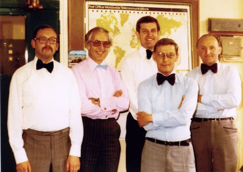 1983 BTI Bowties - photo courtesy Terry Hogsden