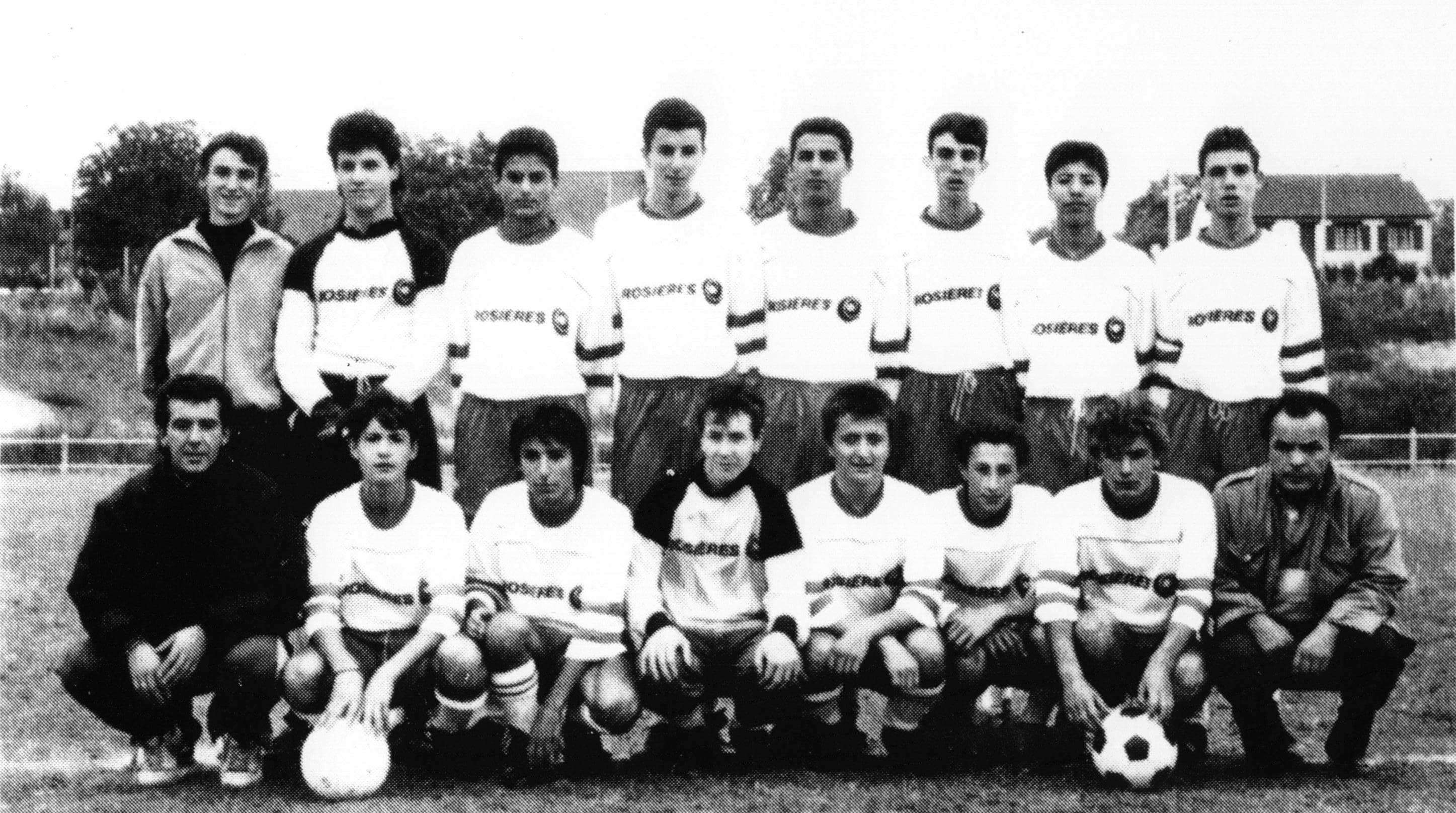 Juniors saison 1989-1990