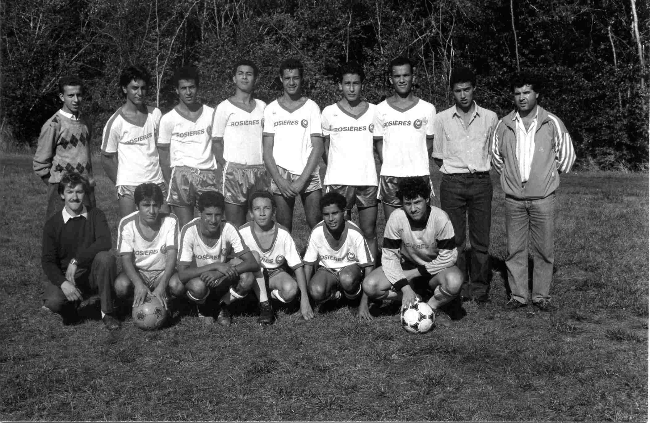 Juniors saison 1988-1989