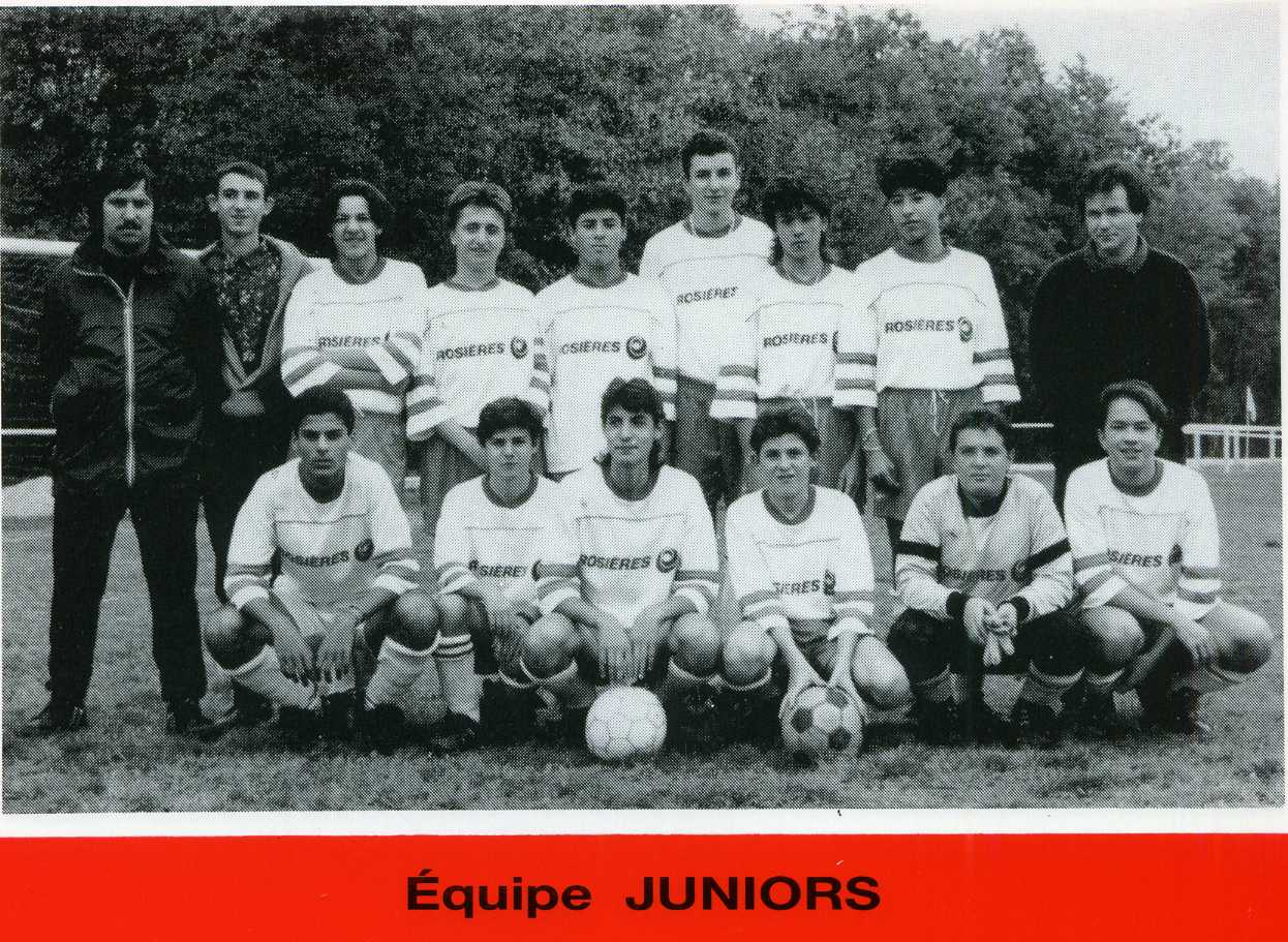 Juniors saison 1990-1991