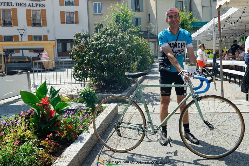 Bianchi model Tour de France 1952_Vogue St Laurent Bourg d'Oisans 05/08/2018