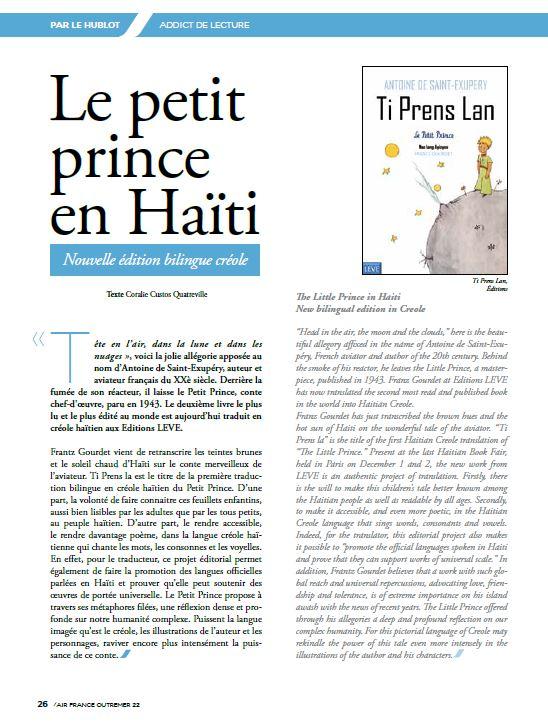 Le petit prince en HaitiJPG