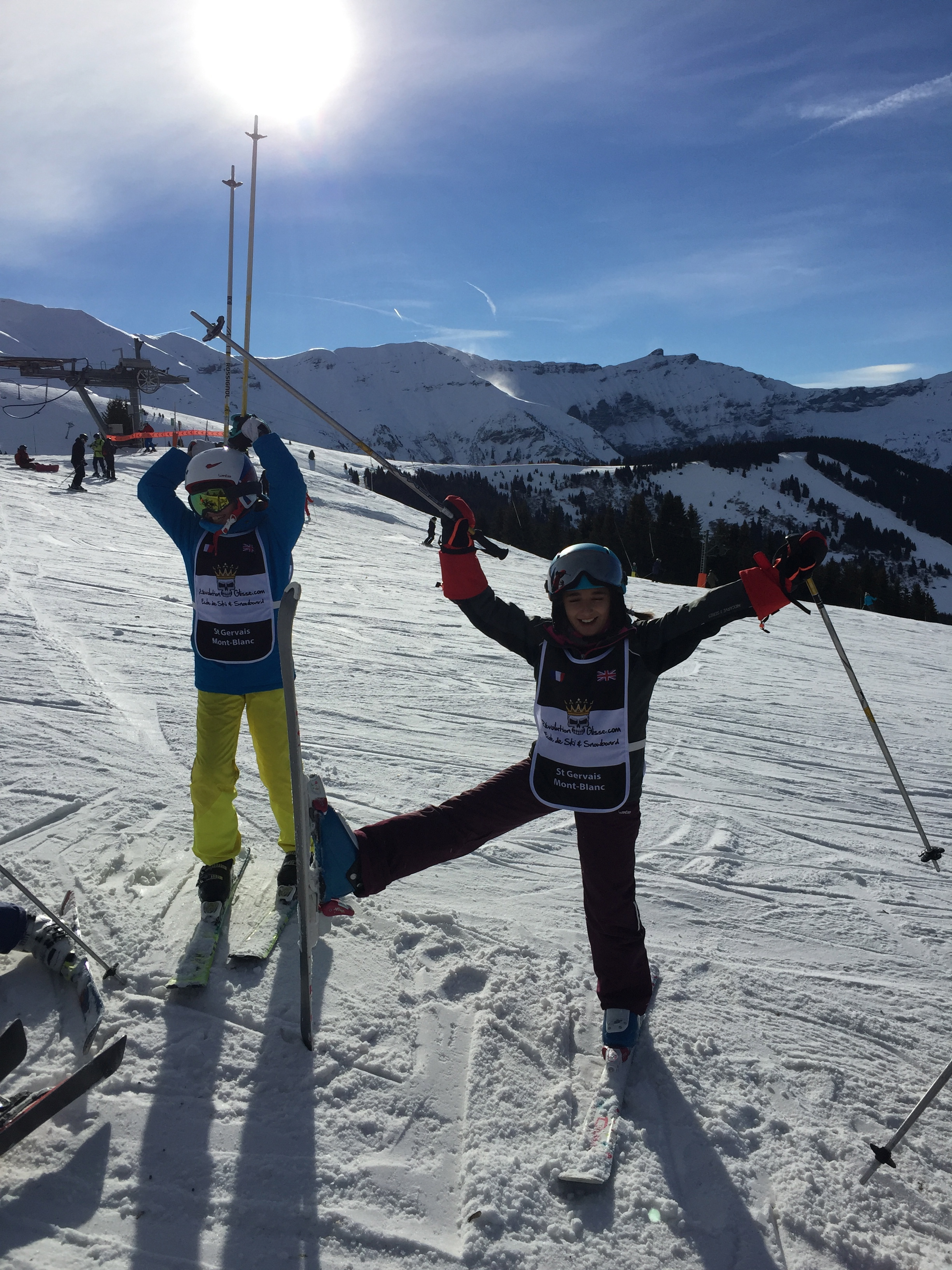 COLLECTIFS SKI  6,12 ans / GROUP SKI LESSON 6 to 12 years old (9h -11h)