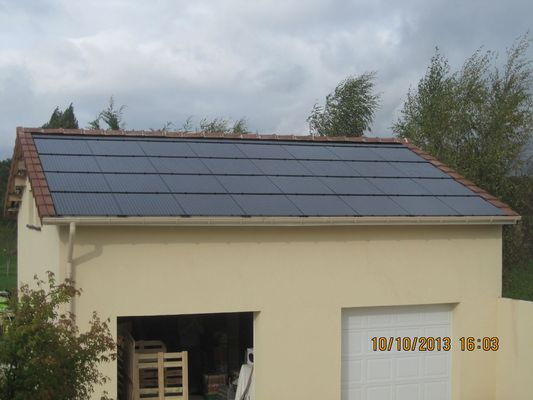 PV 4,8kWc Tuiles FranceWatts RT5 150Wc