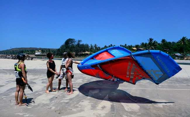kitesurf discovery lesson