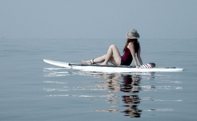 paddle boarding in goa