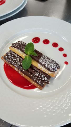 Tartelette chocolat ganache et framboise
