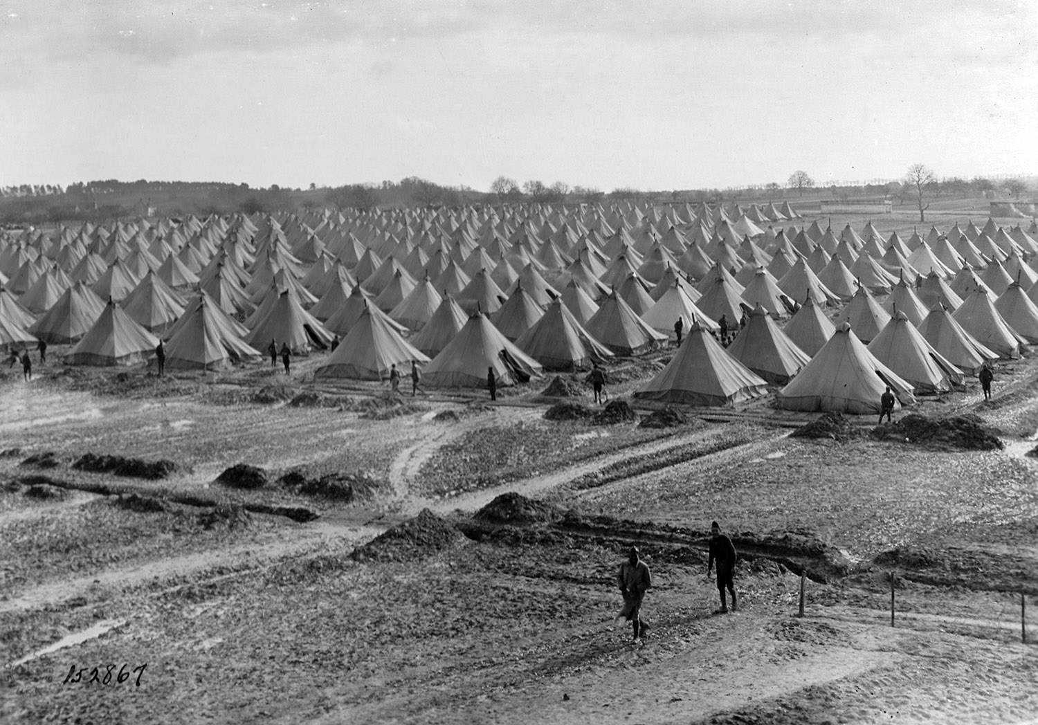 Camp Américain de Noyers-St-Aignan (Photo Google).