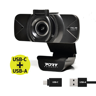 Port Connect Full HD Webcam