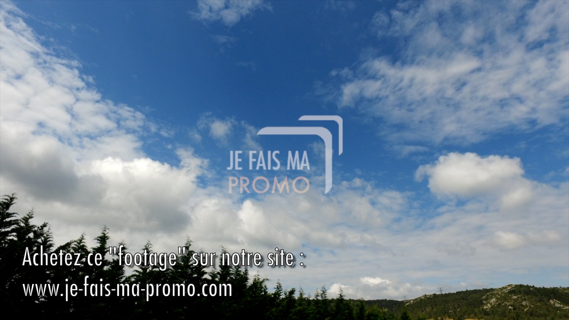Video : Nuages (Timelapse)