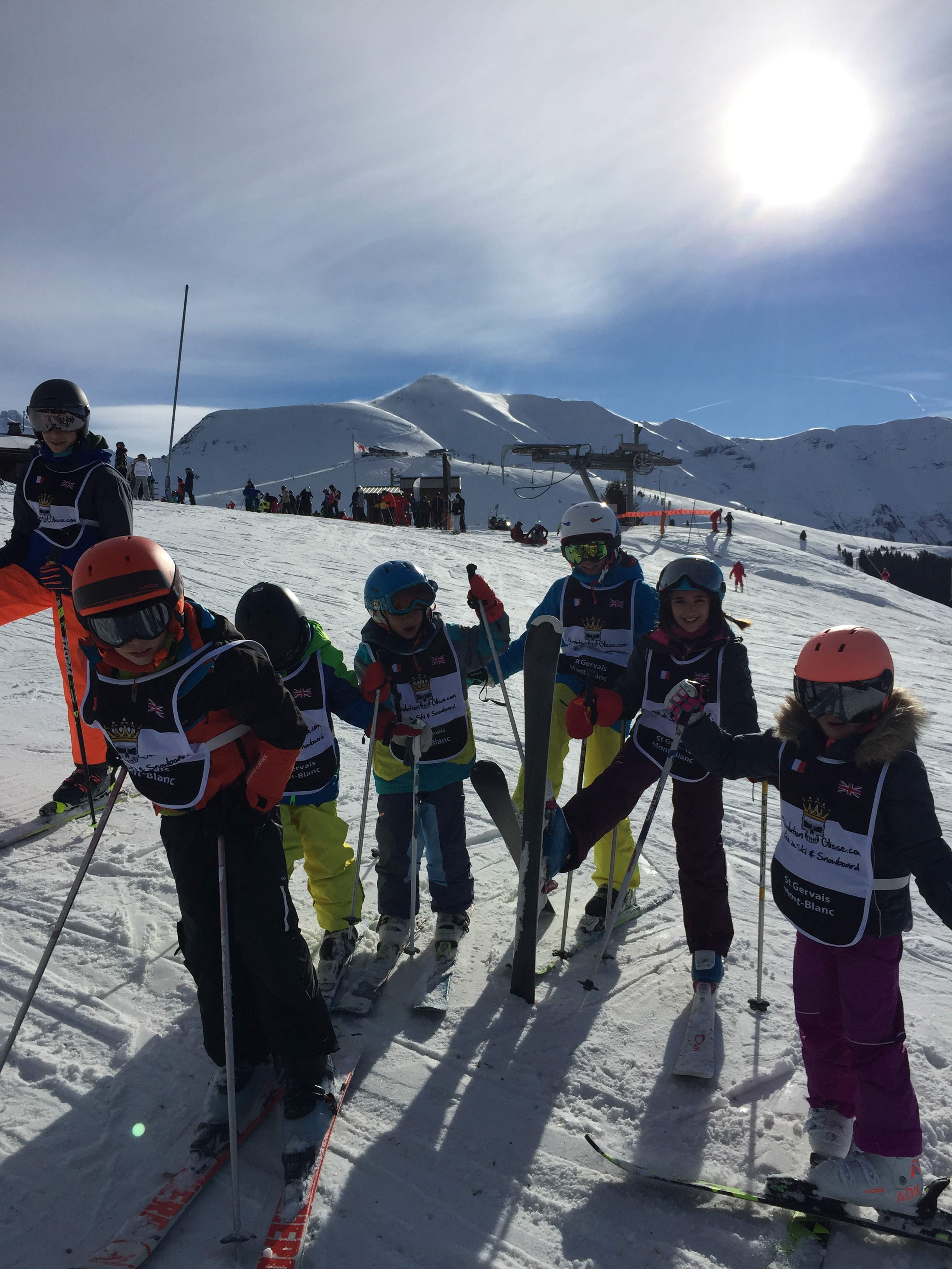 Collectifs Ski  6,12 ans / Ski Group 6 to 12 years old (9h -11h)