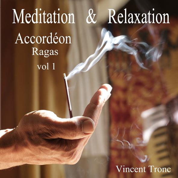 Mditation  Relaxation Accordn Ragas vol 1 - Pochettejpg