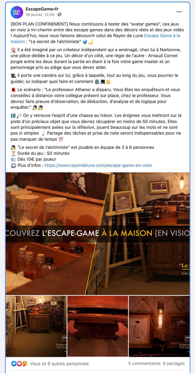 post escape game frjpg
