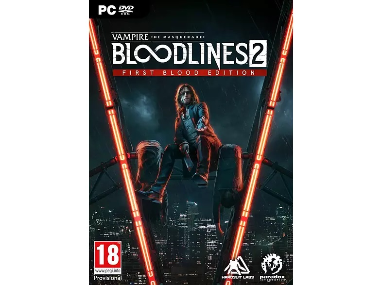 Vampire Masquerade: Bloodlines 2 First Blood Edition FR/NL PC