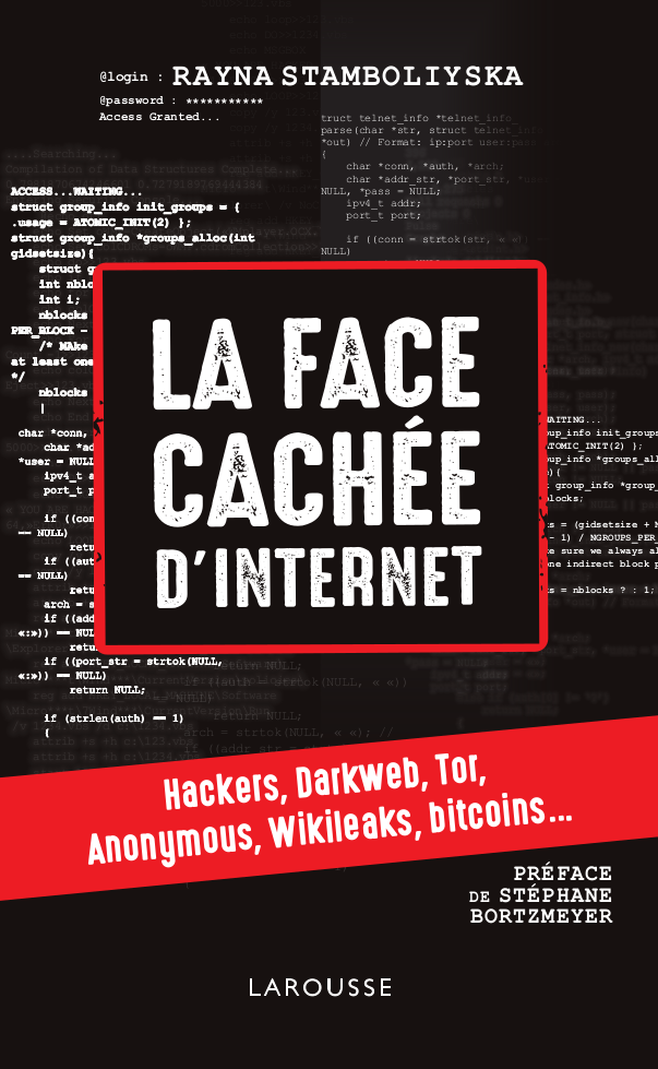 "Couverture de ""La face cachée d'Internet"""