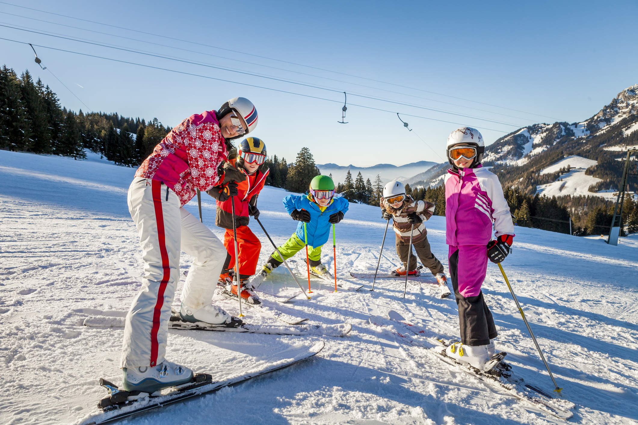 Collectifs ski  6,12 ans / Ski group 6 to 12 years old (15h -17h)
