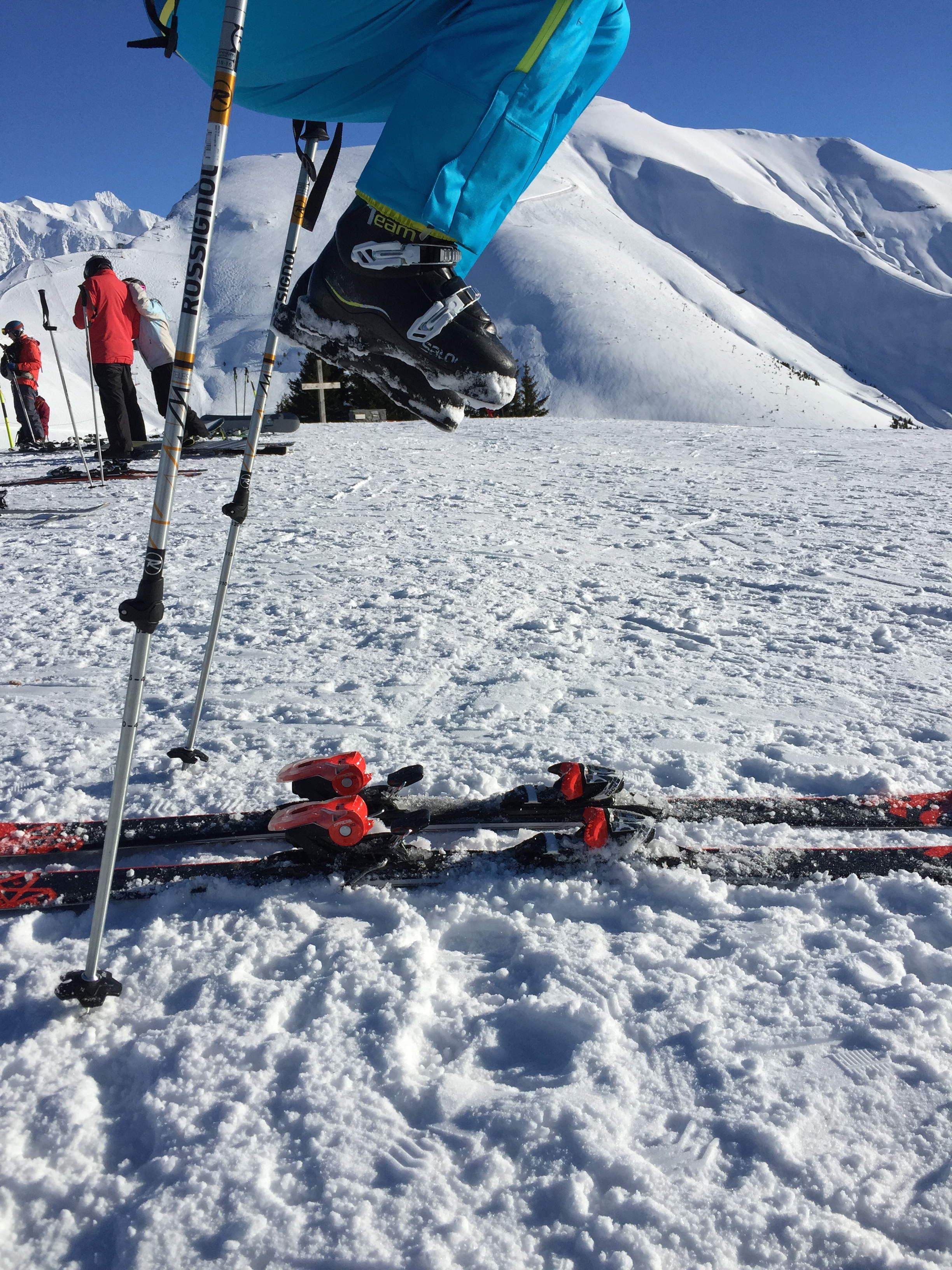 Cours collectifs ski 8 pers max/Group ski lesson 6/12 ans/11h00-13h00