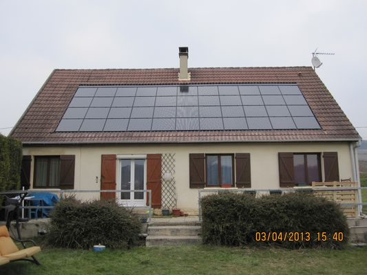 PV 6,6kWc - 44 Tuiles FranceWatts RT5 150Wc