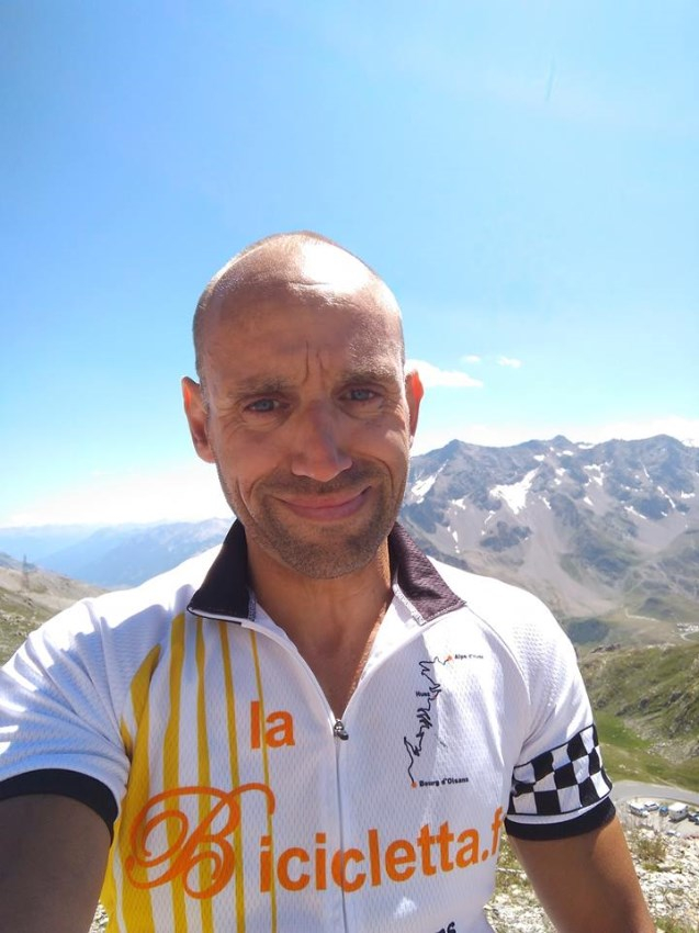 Olivier Beaumier du Team LaBicicletta.fr - Cycles Vintages
