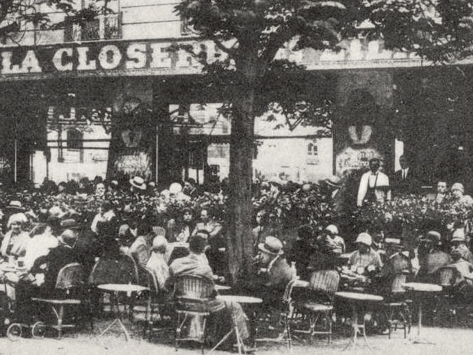 Closerie des Lilas 1920 Hemingway Fitzgerald
