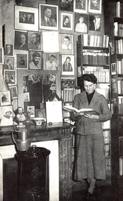 Sylvia Beach American librarian founder Shakespeare and Company Paris editor of James Joyce's Ulysses