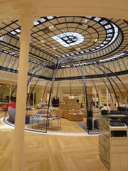 Le Bon Marché Paris glass roof