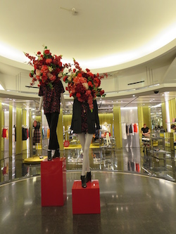 Inside Le Printemps Department Store Paris