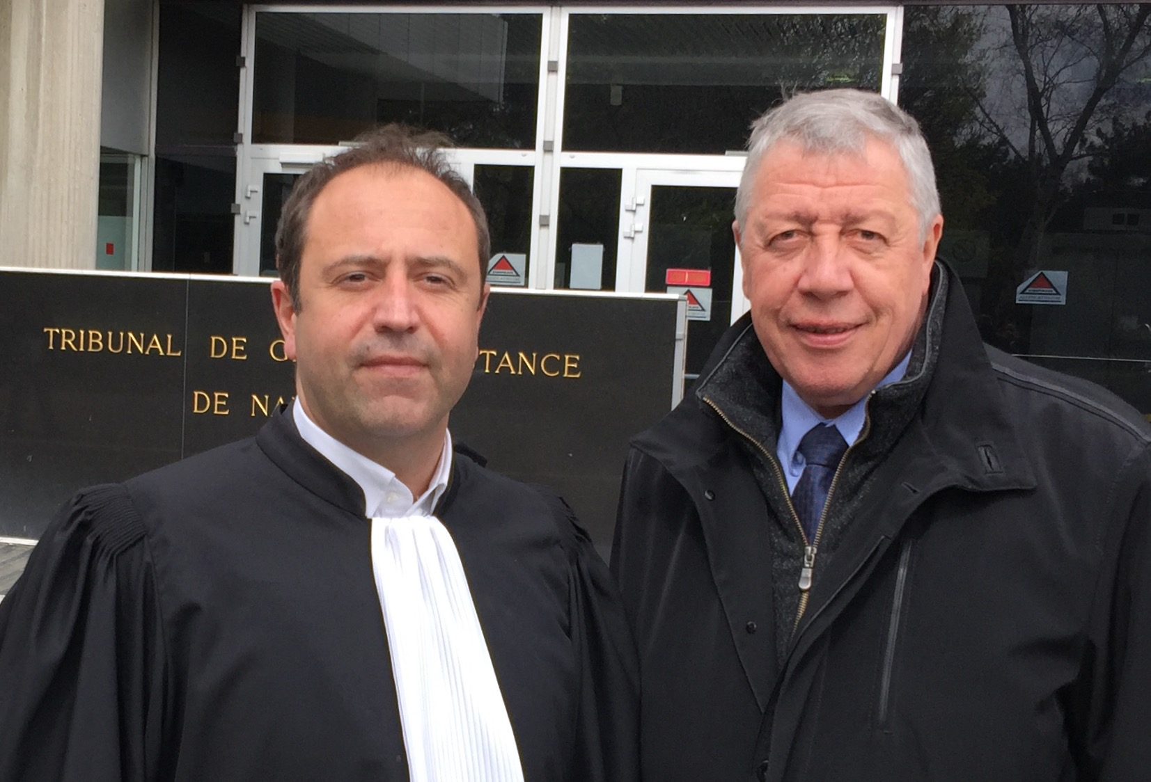 Sevag Torossian lawyer of french National Assembly Deputy trial succes