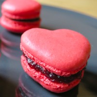 Macarons aux Fruits Rouges - Pinky Cake