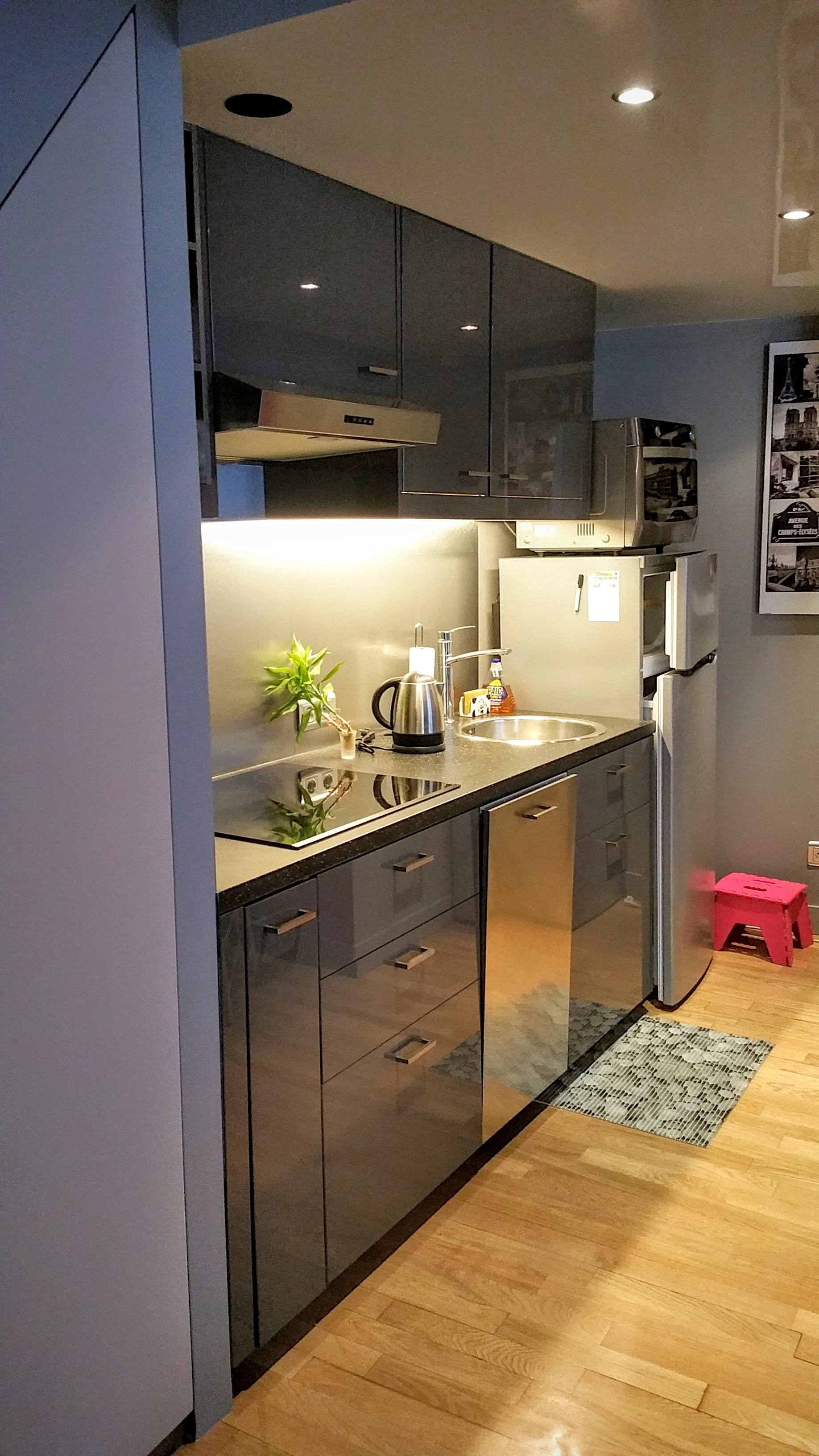 Pose Cuisine Appartement Location