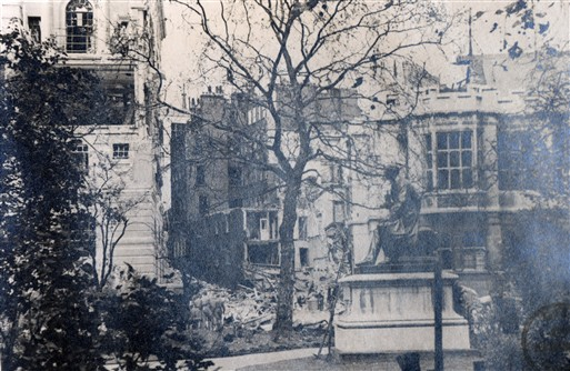 A view from Temple Gardens - Photo Copyright Westminster City Archives
